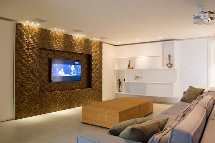 modern  by João Linck | Arquitetura, Modern Solid Wood Multicolored