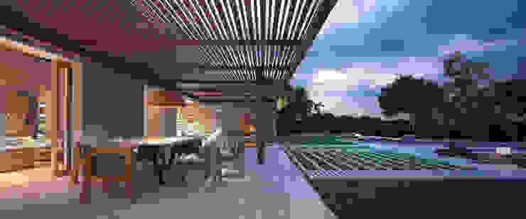 LUV Studio Mediterranean style garden