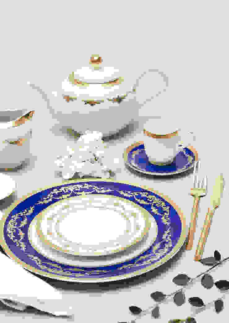 Imperio Gold por Porcel - Indústria Portuguesa de Porcelanas, S.A. Clássico Porcelana