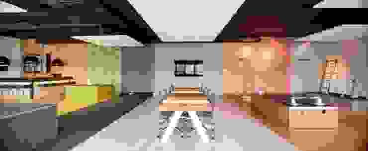 Kantor & Toko Modern Oleh INZIGHT architecture Modern