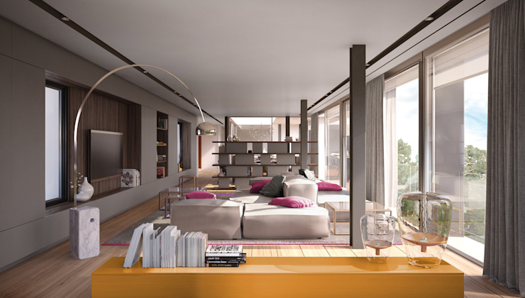 LUV Studio Mediterranean style dining room