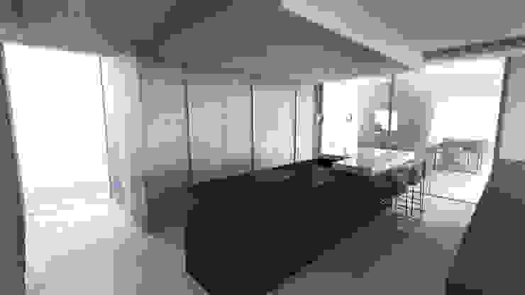モダンな キッチン の ARRIVETZ & BELLE モダン