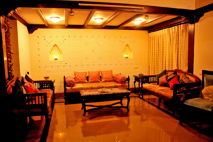 Living Room Image N Shape Living roomSofas & armchairs Wood Yellow