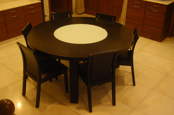 Dinning Table Image N Shape Dining roomChairs & benches Wood Wood effect