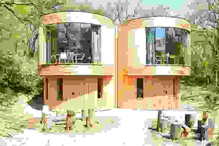 Hôtels scandinaves par Atelier09 Scandinave