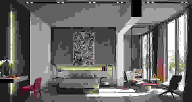 LUV Studio Eclectic style bedroom