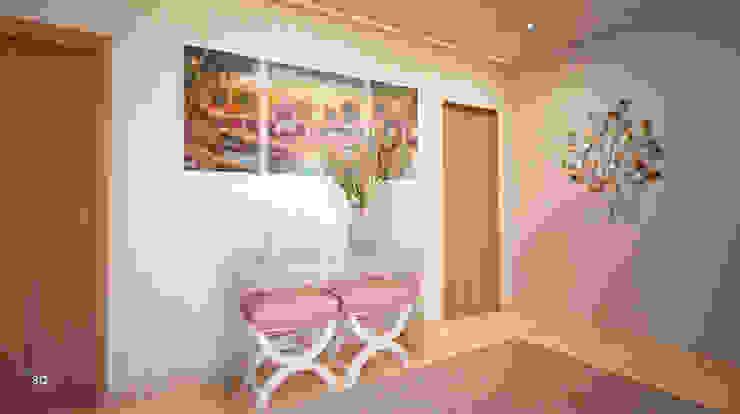 GRAÇA Decoração de Interiores 現代風玄關、走廊與階梯