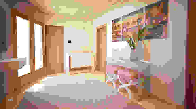 GRAÇA Decoração de Interiores Pasillos, vestíbulos y escaleras de estilo moderno