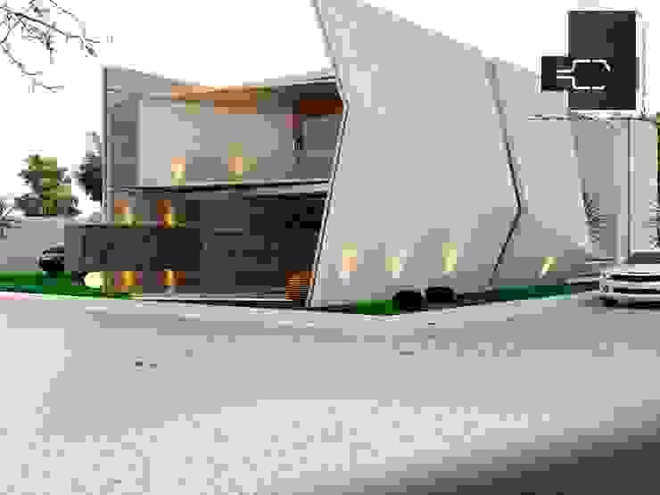 RESIDENCIA DB; PACHUCA HIDALGO, MÉXICO Casas eclécticas de Sergio Villafuerte -ARQUITECTOS- Ecléctico