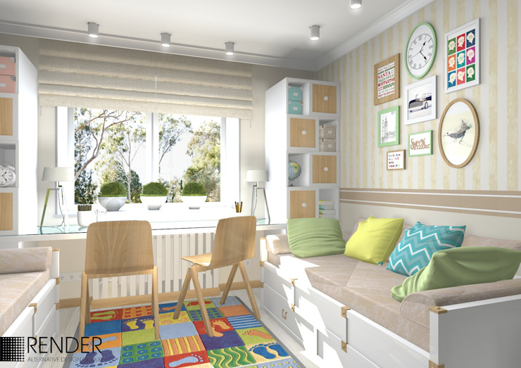Nursery/kid's room by homify, Minimalist