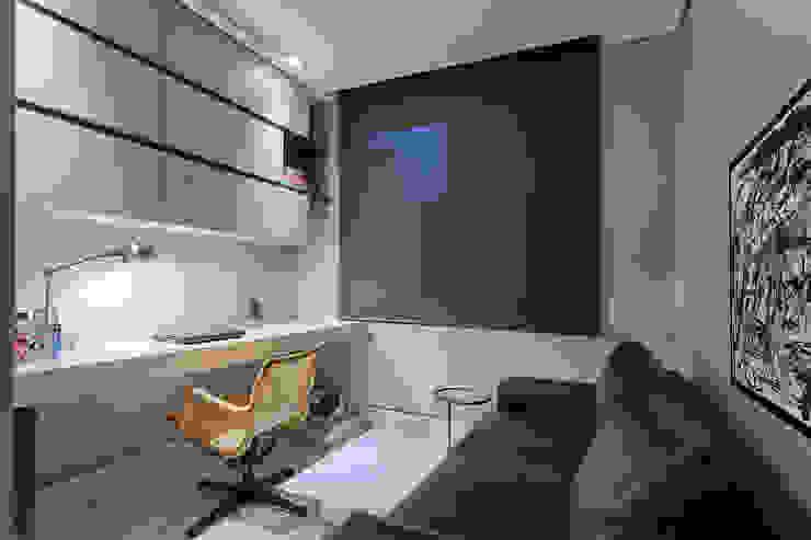 Modern study/office by Emmanuelle Eduardo Arquitetura e Interiores Modern