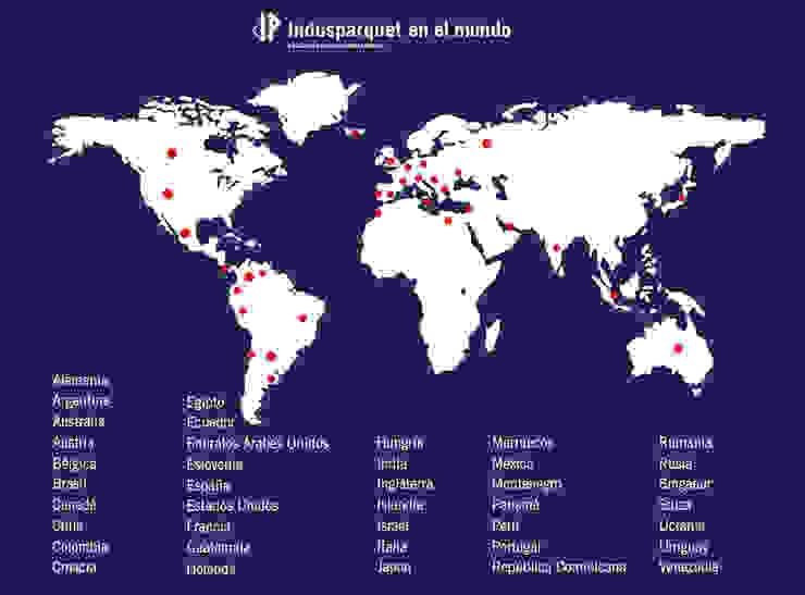 Indusparquet por el Mundo de Indusparquet Argentina