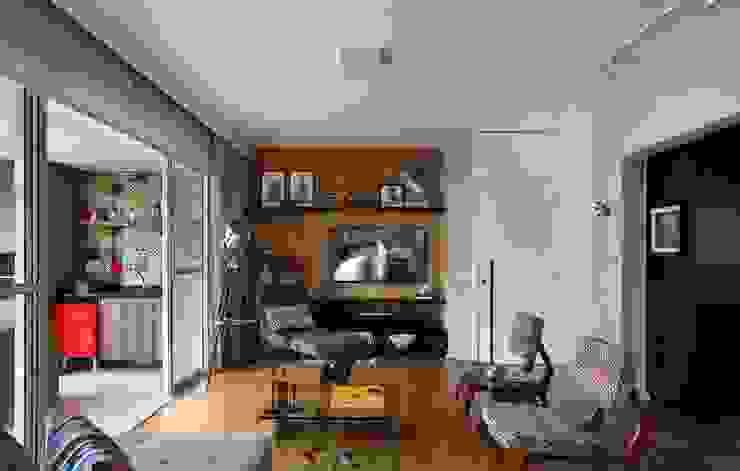 Apartamento FF Salas de estar modernas por Studio Novak Moderno