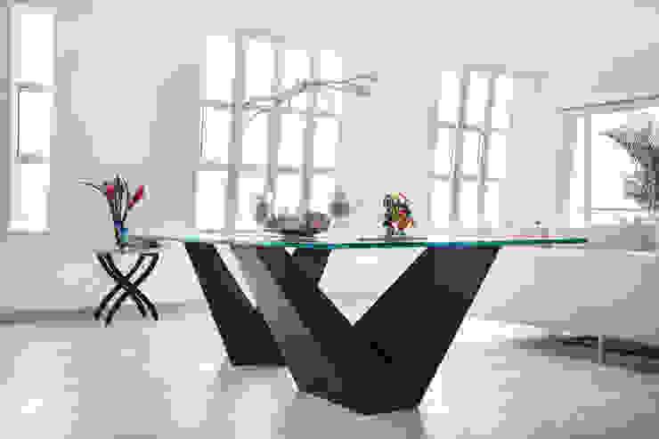 Diseño de mesa Comedores de estilo moderno de homify Moderno