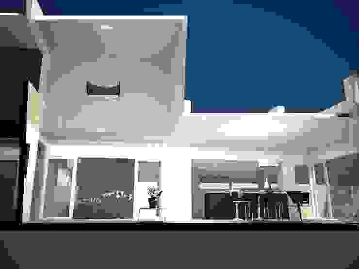 CORTE LONGITUDINAL Casas modernas: Ideas, imágenes y decoración de Eugenio Tschaggeny Arquitectura - Decoración - Ambientaciones. Moderno