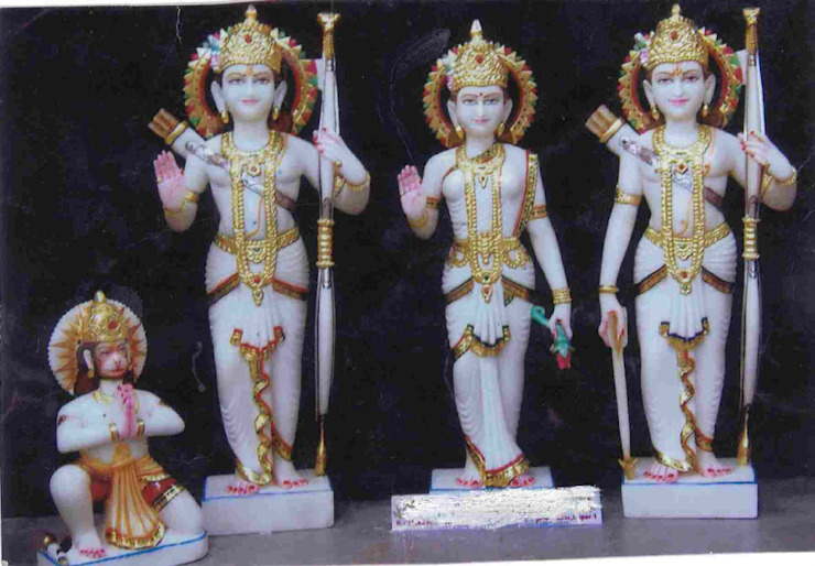 Marble Handicrafts: asian  by Vinod Murti Museum,Asian Marble