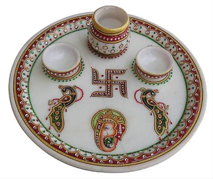 Thali: asian  by Vinod Murti Museum,Asian Marble