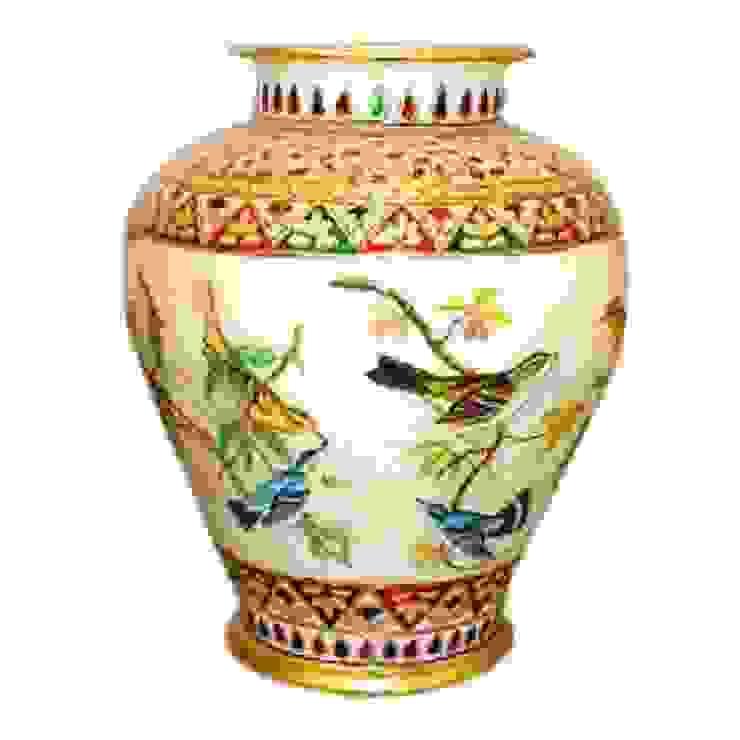 Vase: asian  by Vinod Murti Museum,Asian Marble