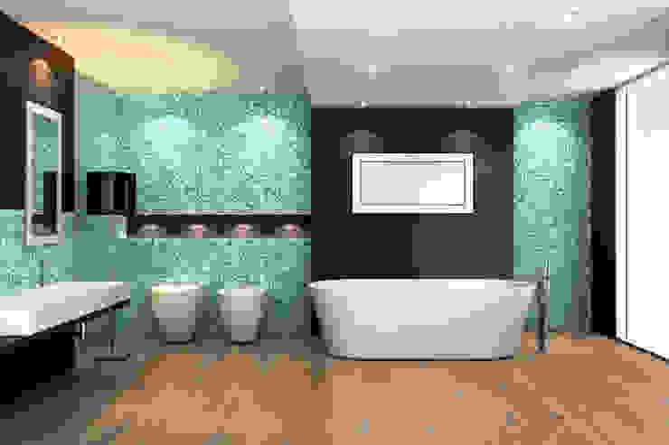 جدران تنفيذ Hain Parkett, حداثي خشب Wood effect