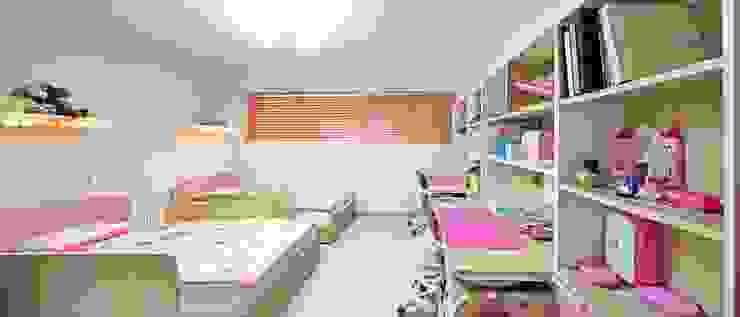 Cuartos infantiles de estilo moderno de 윤성하우징 Moderno