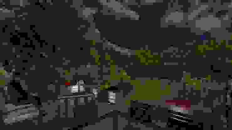 Jardin cocon Jardin moderne par Anthemis Bureau d'Etude Paysage Moderne