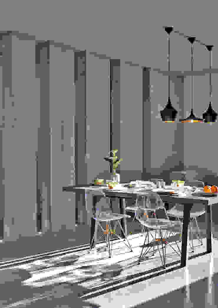 minimalist  by Entre Led e Design, Minimalist Concrete