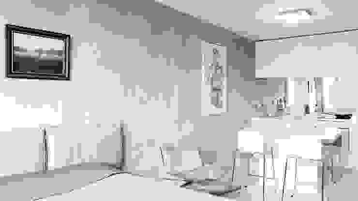 Living room by Alexander John Huston