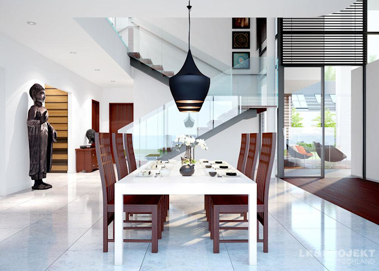 Dining room by LK&Projekt GmbH