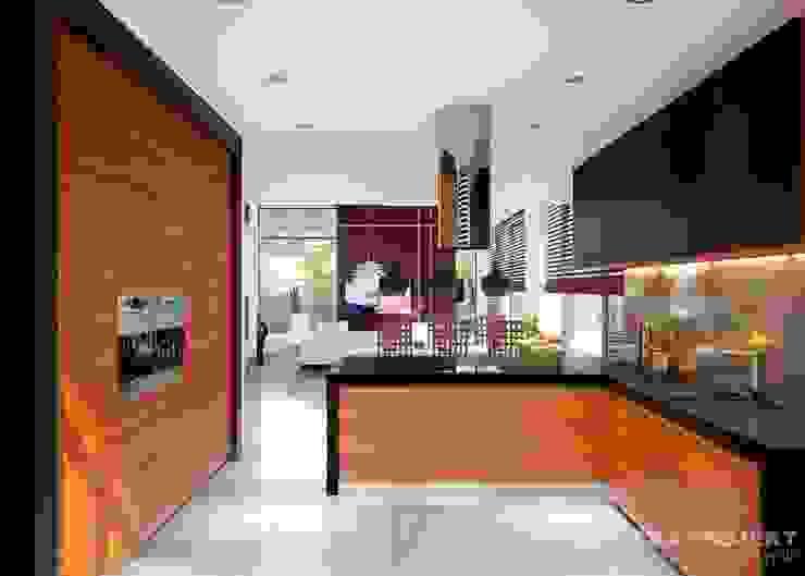 Cocinas modernas de LK&Projekt GmbH Moderno