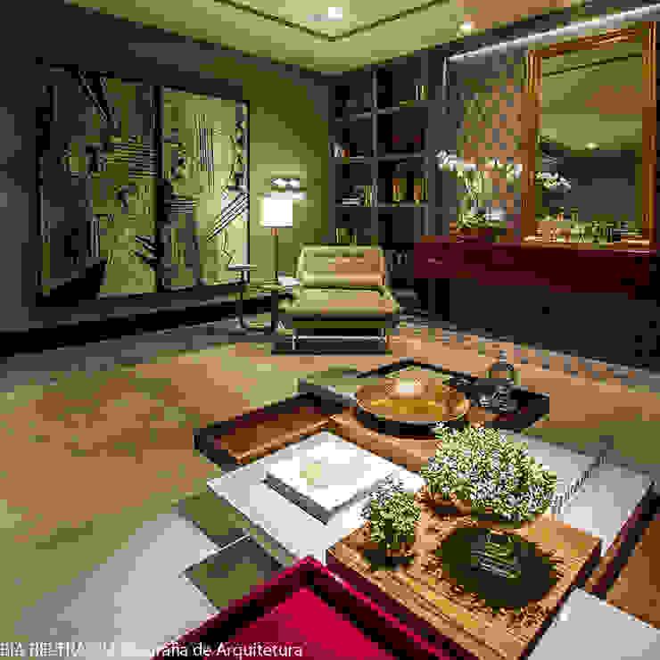 Modern walls & floors by Carolina Mota - Arquitetura, Interiores e Iluminação Modern