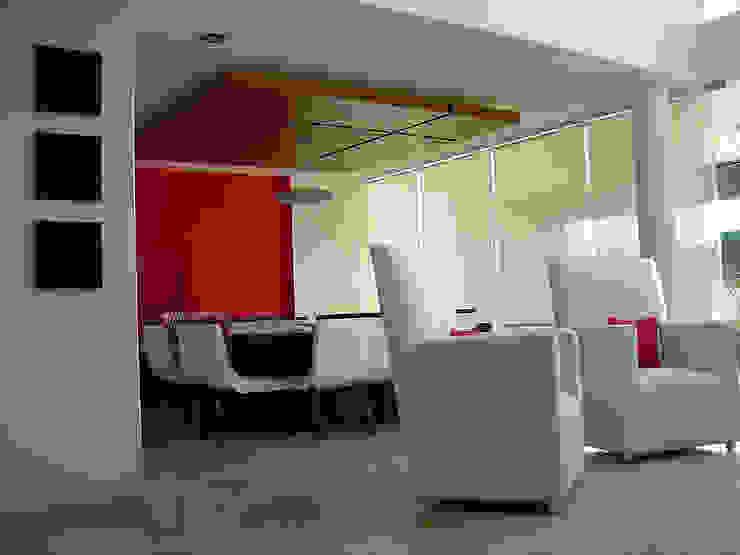 Sala-comedor Comedores modernos de AParquitectos Moderno