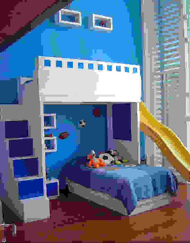 Recámara niño Dormitorios infantiles modernos de AParquitectos Moderno