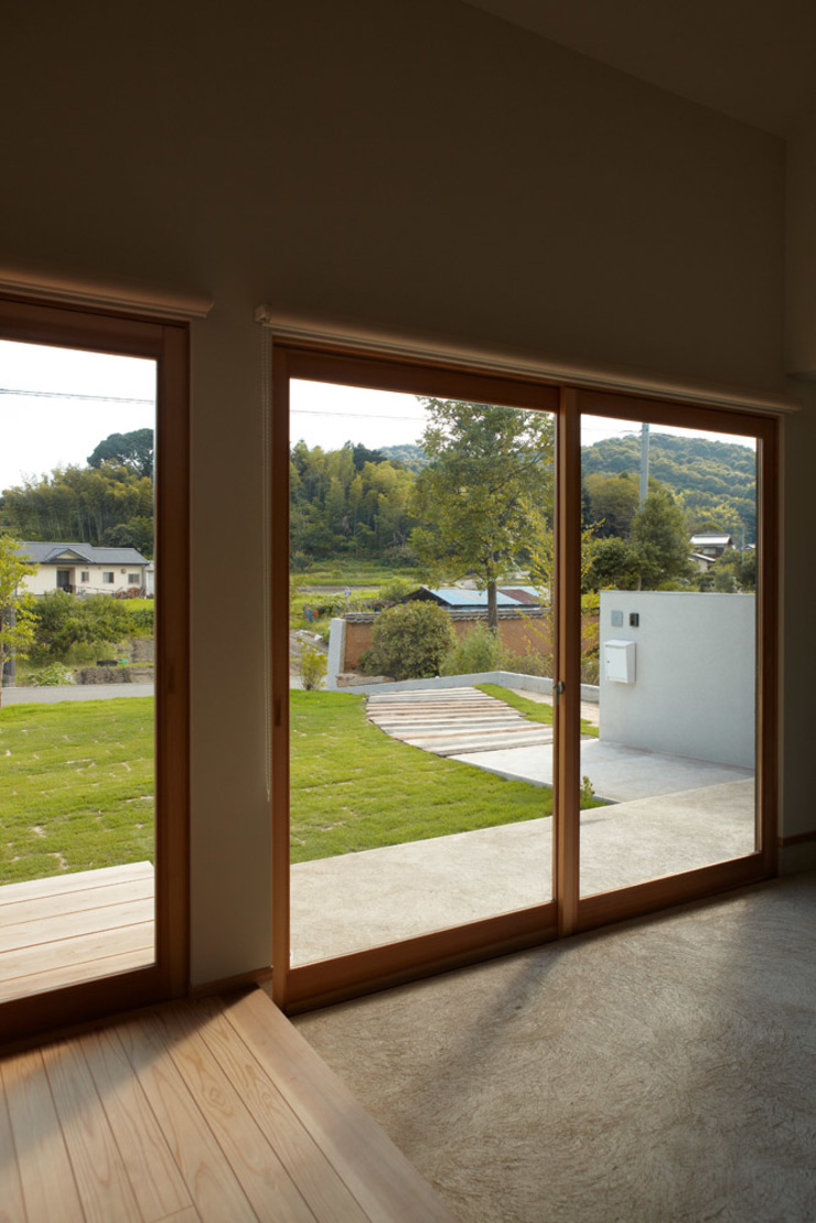 toki Architect design office 窗戶 木頭 White