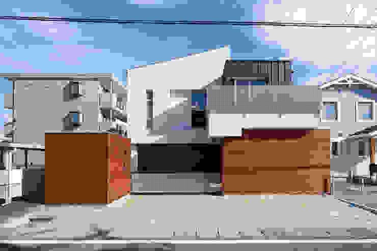 富士を望む家 モダンな 家 の 佐賀高橋設計室/SAGA + TAKAHASHI architects studio モダン