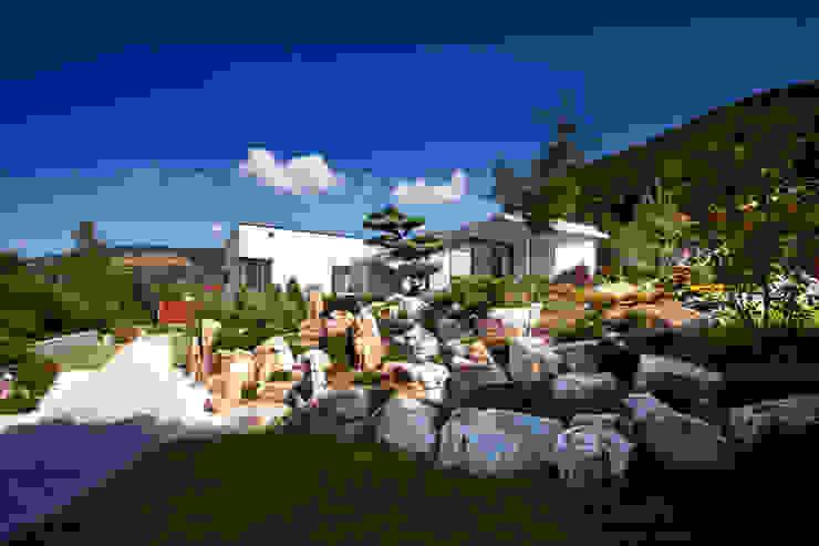 Asian style garden by Klaus Geyer Elektrotechnik Asian