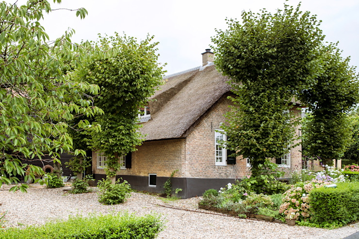 Rustic style houses by Brand I BBA Architecten Rustic