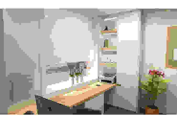 Bureau Moderne kantoor- & winkelruimten van AD MORE design Modern MDF