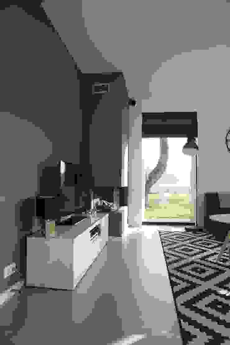 Livings de estilo moderno de Hoogsteder Architecten Moderno
