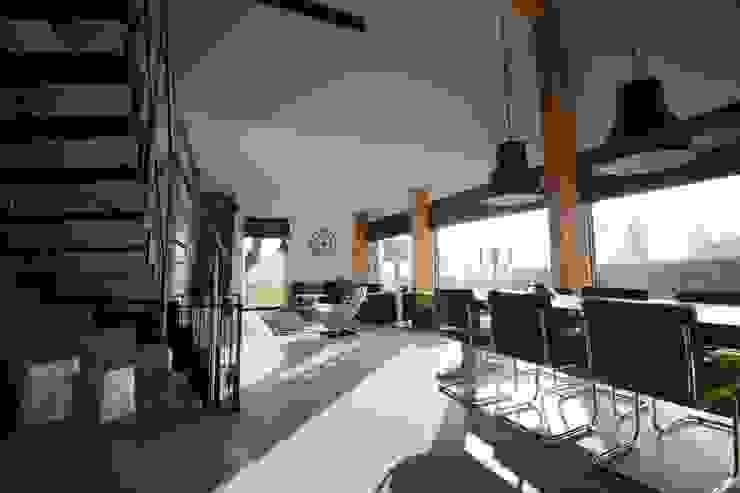 Minimalistische Wohnzimmer von Hoogsteder Architecten Minimalistisch