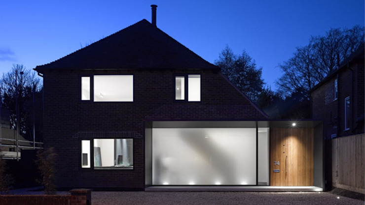 Long House - Large Multipane Skylight Sunsquare Ltd Modern windows & doors