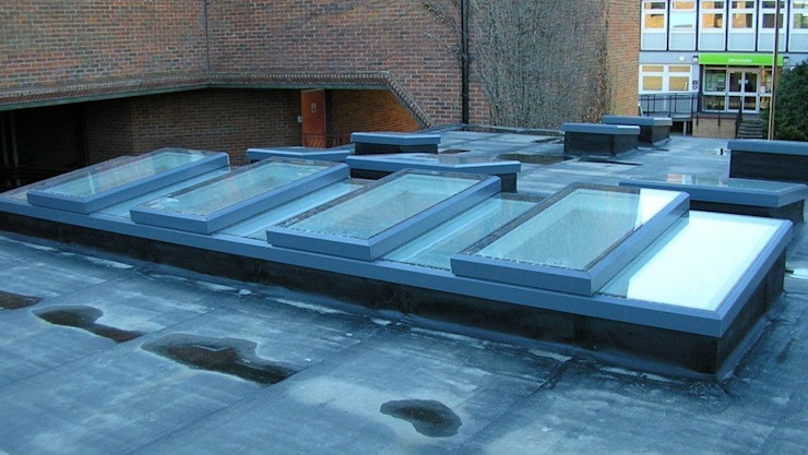 Skylights With a Contemporary Finish Sunsquare Ltd Modern Windows and Doors