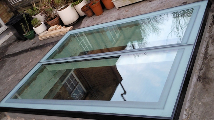 Skylights With a Contemporary Finish Sunsquare Ltd Pintu & Jendela Modern