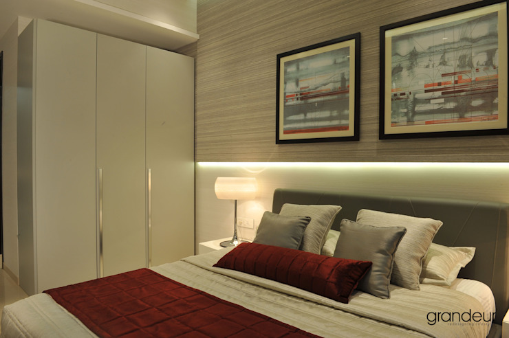 Bedroom 2: modern  by Grandeur Interiors,Modern