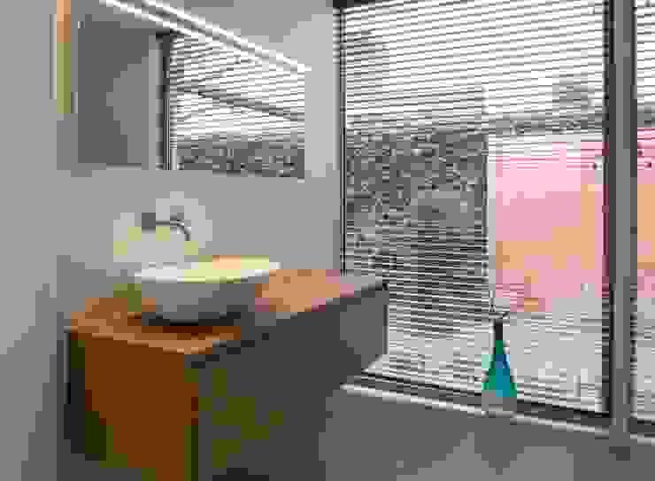Baden in de tuin Moderne badkamers van Architect2GO Modern Hout Hout