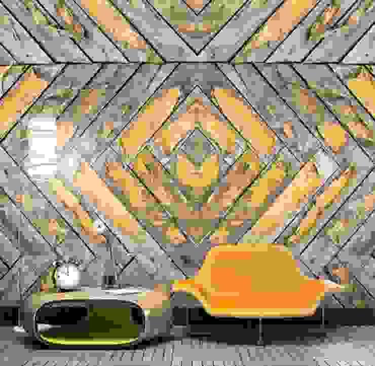 Mural QUATTRO 007 por VM HOME DESIGN Moderno