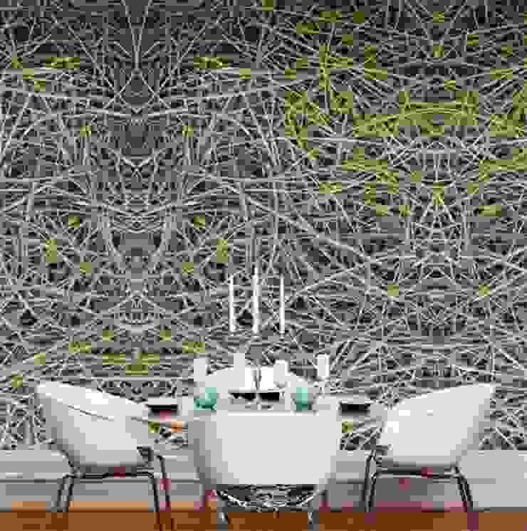 Mural QUATTRO 016 por VM HOME DESIGN Moderno