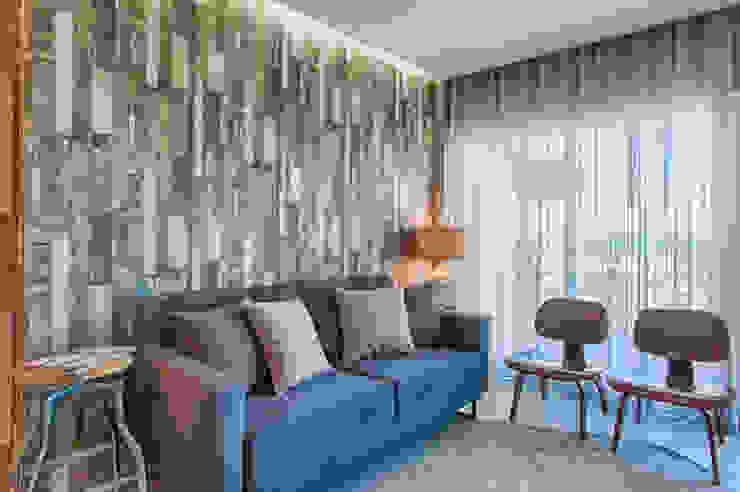 Casa de Praia Salas de estar industriais por Santiago | Interior Design Studio Industrial