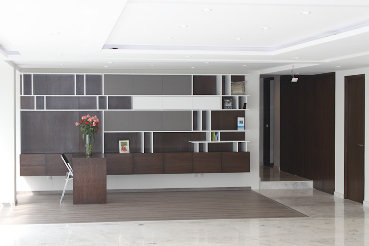 CASA T-B Estudios y despachos modernos de IARKITECTURA Moderno Madera Acabado en madera