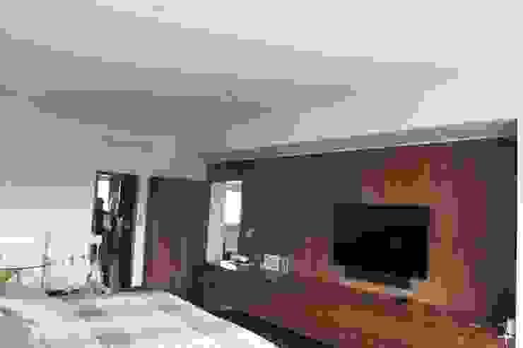 DEPARTAMENTO R-G Dormitorios modernos de IARKITECTURA Moderno Madera Acabado en madera