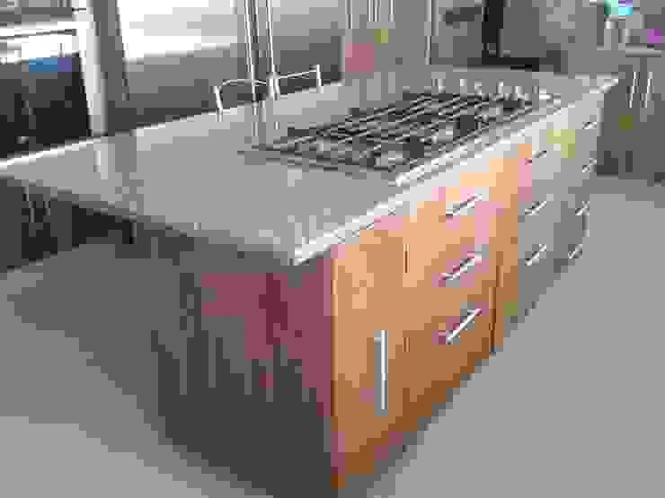 DEPARTAMENTO R-G Cocinas modernas de IARKITECTURA Moderno Madera Acabado en madera